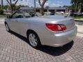 Chrysler Sebring Limited Convertible Bright Silver Metallic photo #5