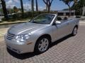 Chrysler Sebring Limited Convertible Bright Silver Metallic photo #8