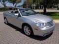 Chrysler Sebring Limited Convertible Bright Silver Metallic photo #12