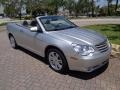 Chrysler Sebring Limited Convertible Bright Silver Metallic photo #33
