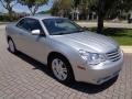 Chrysler Sebring Limited Convertible Bright Silver Metallic photo #51