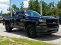 Chevrolet Silverado 1500 WT Regular Cab Black photo #7