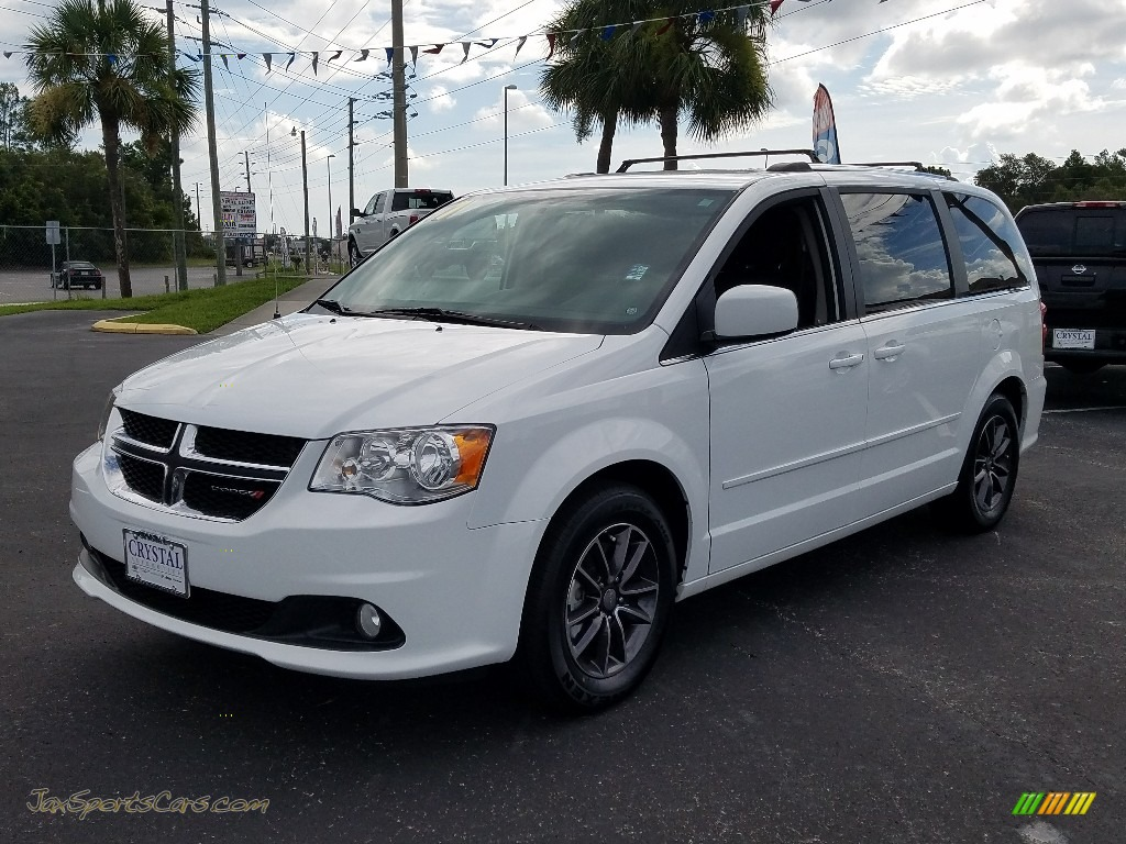 2017 Grand Caravan SXT - White Knuckle / Black/Light Graystone photo #1