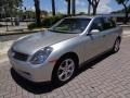 Infiniti G 35 Sedan Brilliant Silver Metallic photo #1