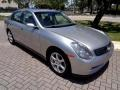 Infiniti G 35 Sedan Brilliant Silver Metallic photo #13