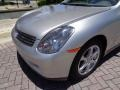 Infiniti G 35 Sedan Brilliant Silver Metallic photo #32