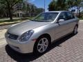 Infiniti G 35 Sedan Brilliant Silver Metallic photo #44