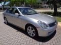 Infiniti G 35 Sedan Brilliant Silver Metallic photo #60