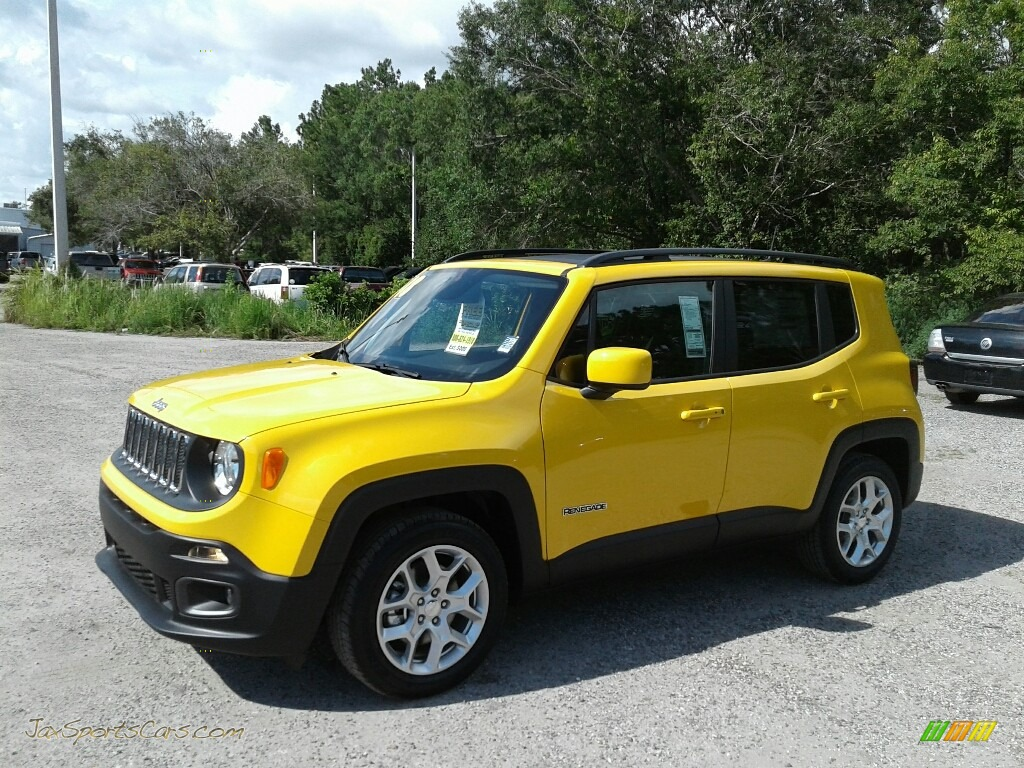 2018 Renegade Latitude - Solar Yellow / Black photo #1