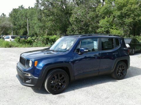 Jetset Blue 2018 Jeep Renegade Altitude