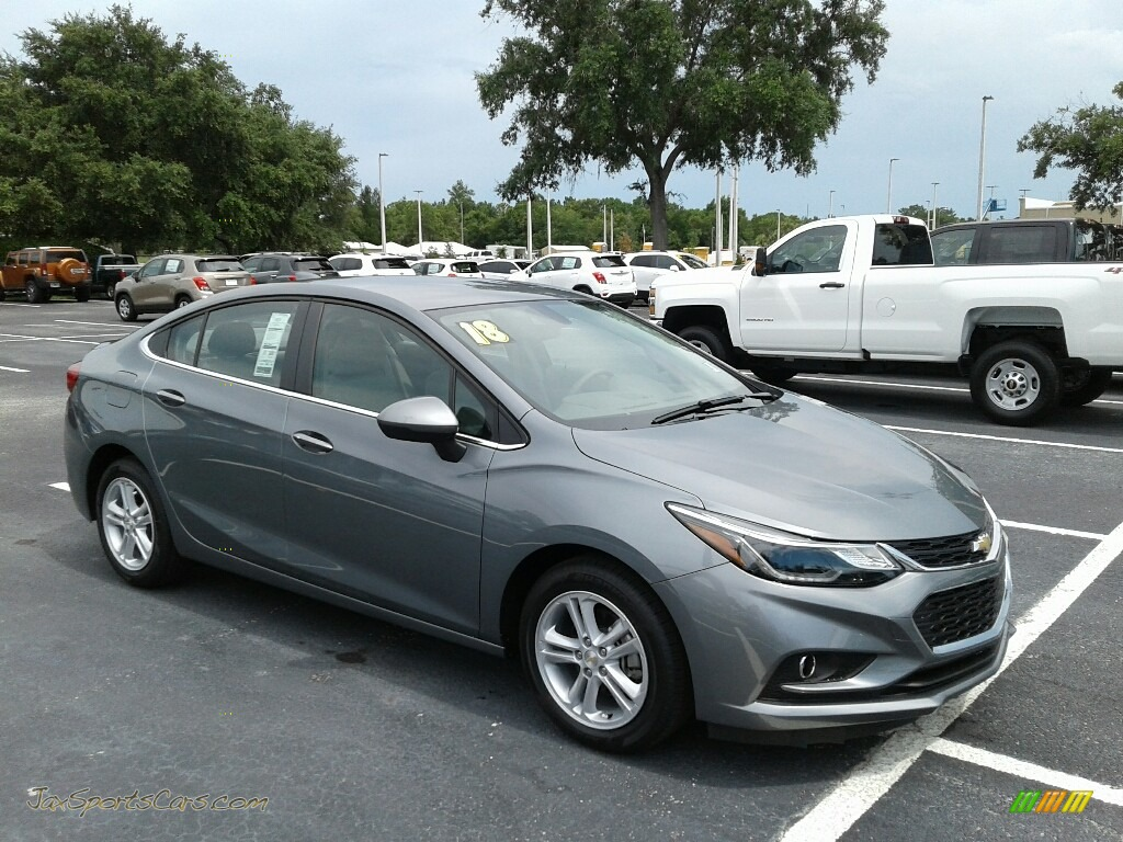 2018 Cruze LT - Satin Steel Gray Metallic / Jet Black photo #6