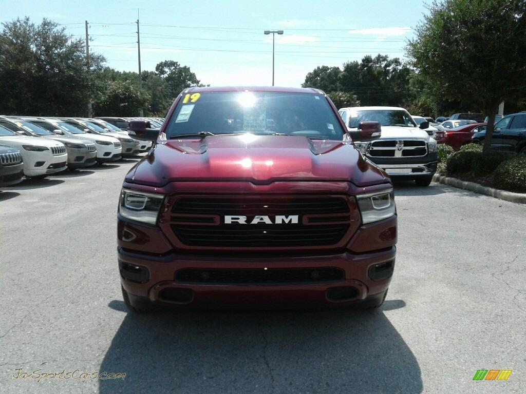 2019 1500 Big Horn Crew Cab - Delmonico Red Pearl / Black photo #8