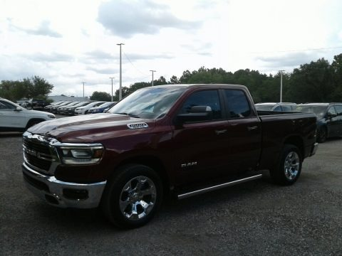 Delmonico Red Pearl 2019 Ram 1500 Big Horn Quad Cab
