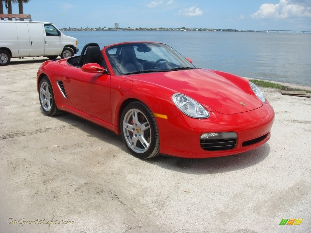 2005 Boxster S - Guards Red / Black photo #1