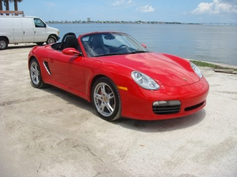 Guards Red 2005 Porsche Boxster S