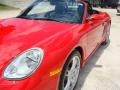 Porsche Boxster S Guards Red photo #10