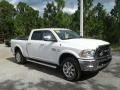 Ram 2500 Laramie Longhorn Crew Cab 4x4 Bright White photo #7