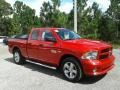 Ram 1500 Express Quad Cab Flame Red photo #7
