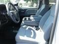 Chevrolet Silverado 1500 Custom Crew Cab 4x4 Silver Ice Metallic photo #9