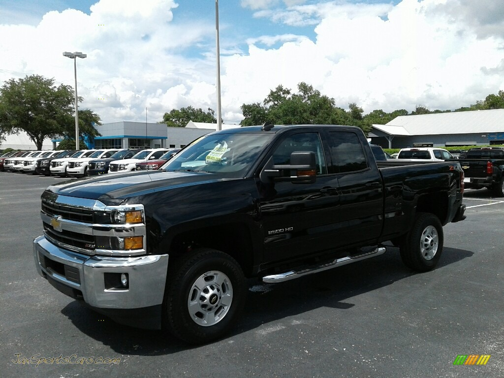 2018 Silverado 2500HD LT Crew Cab 4x4 - Black / Jet Black photo #1
