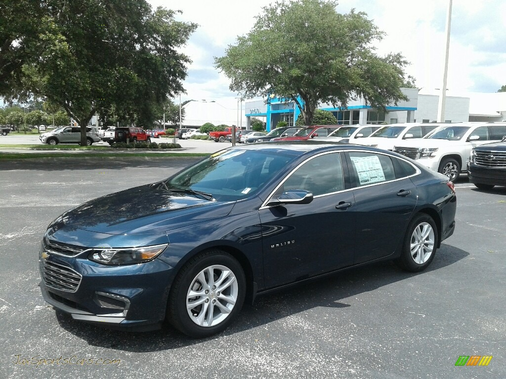 Blue Velvet Metallic / Jet Black Chevrolet Malibu LT