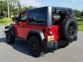 Jeep Wrangler Willys Wheeler 4x4 Firecracker Red photo #3