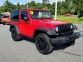 Jeep Wrangler Willys Wheeler 4x4 Firecracker Red photo #7