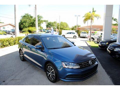 Silk Blue Metallic 2018 Volkswagen Jetta SE