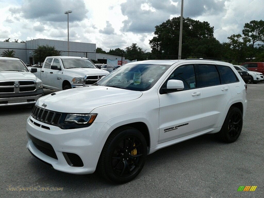 2018 Grand Cherokee Trackhawk 4x4 - Ivory Tri-Coat / Black/Sepia photo #1