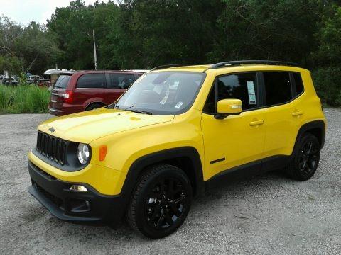 Solar Yellow 2018 Jeep Renegade Altitude