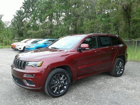 Velvet Red Pearl 2018 Jeep Grand Cherokee High Altitude 4x4