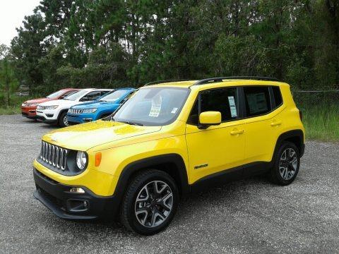 Solar Yellow 2018 Jeep Renegade Latitude