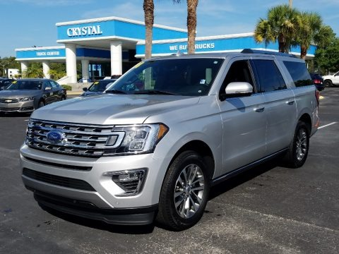Ingot Silver 2018 Ford Expedition Limited Max