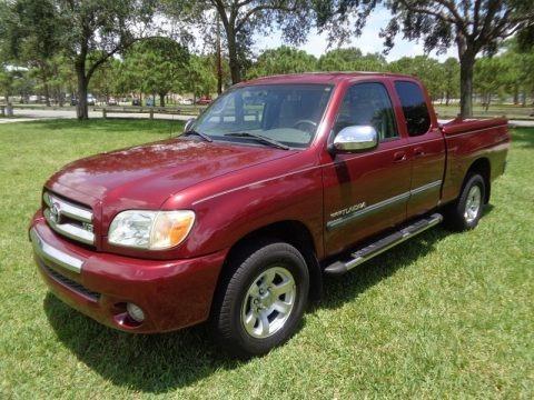 Salsa Red Pearl 2005 Toyota Tundra SR5 Access Cab