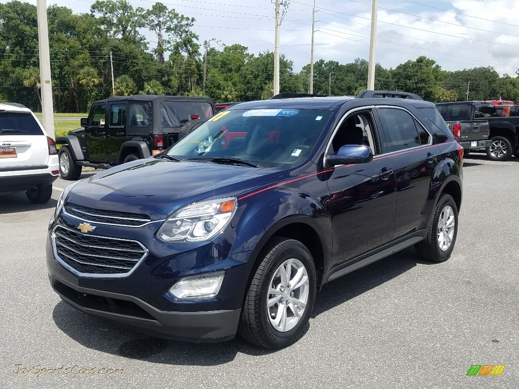 2017 Equinox LT - Blue Velvet Metallic / Light Titanium/Jet Black photo #1