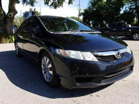 Crystal Black Pearl 2010 Honda Civic EX-L Sedan