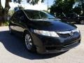 Honda Civic EX-L Sedan Crystal Black Pearl photo #1