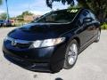 Honda Civic EX-L Sedan Crystal Black Pearl photo #7
