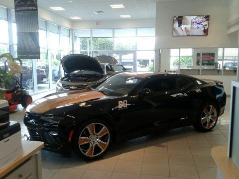 Black 2018 Chevrolet Camaro SS Coupe