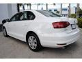 Volkswagen Jetta S Pure White photo #7