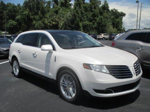 White Platinum 2019 Lincoln MKT AWD