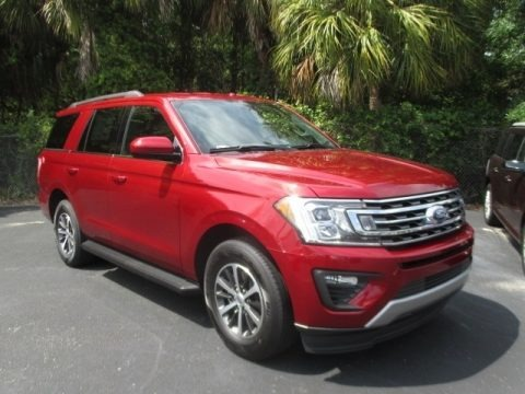 Ruby Red 2018 Ford Expedition XLT