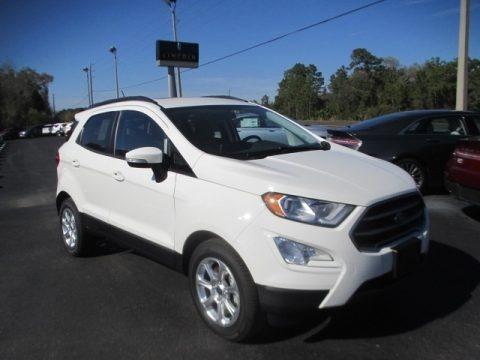 Diamond White 2018 Ford EcoSport SE