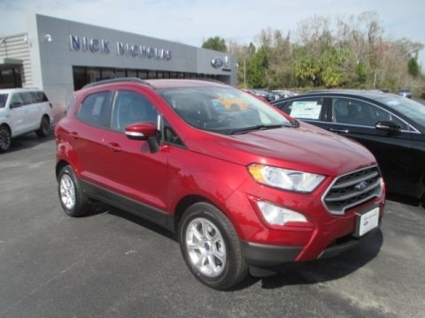Ruby Red 2018 Ford EcoSport SE