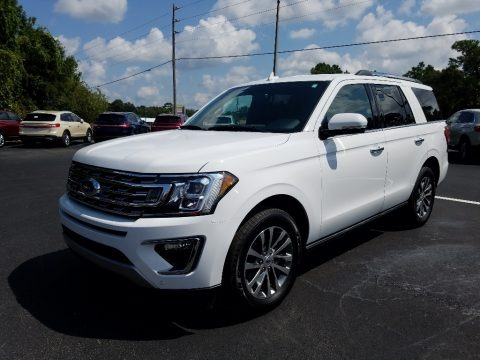 Oxford White 2018 Ford Expedition Limited