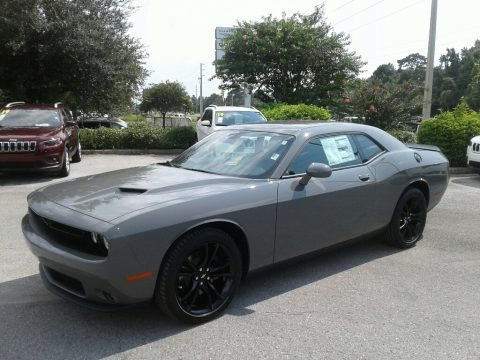 Destroyer Gray 2018 Dodge Challenger SXT