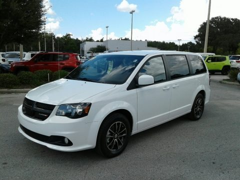 White Knuckle 2019 Dodge Grand Caravan SE Plus
