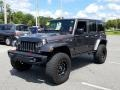 Jeep Wrangler Unlimited Rubicon Hard Rock 4x4 Granite Crystal Metallic photo #2