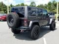 Jeep Wrangler Unlimited Rubicon Hard Rock 4x4 Granite Crystal Metallic photo #6