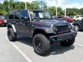 Jeep Wrangler Unlimited Rubicon Hard Rock 4x4 Granite Crystal Metallic photo #8